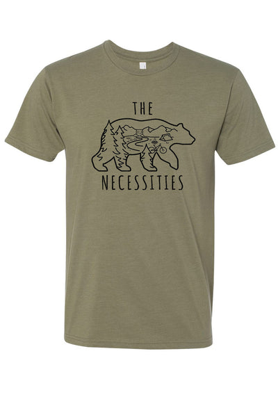 THE BEAR NECESSITIES SHIRT (OLIVE)