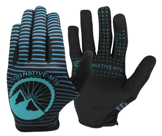 Cognative Teal Mountain Bike Gloves