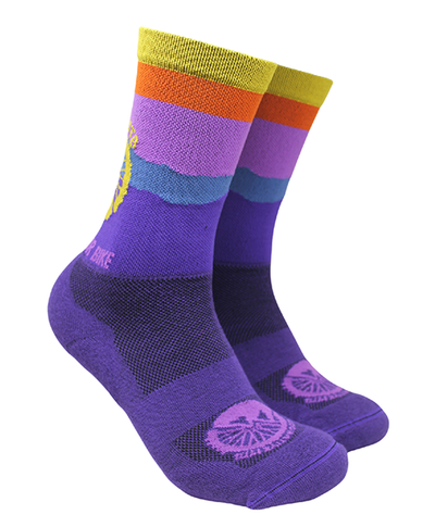 Factory Second GO RIDE YOUR BIKE - TECH SOCK (PADDED)