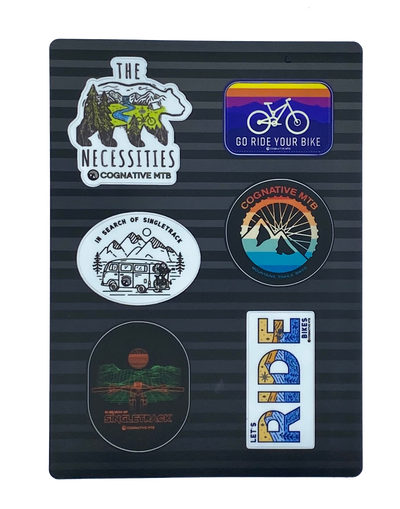 COGNATIVE MTB STICKER KIT