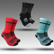 Read Teal Black Mountain Bike Socks