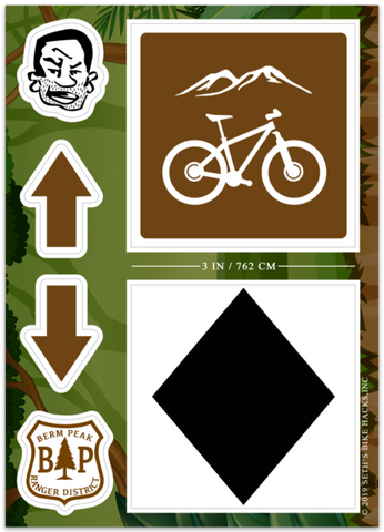 BERM PEAK TRAIL MARKER KIT (4 OPTIONS)