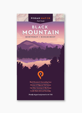 BLACK MOUNTAIN - PISGAH MAP