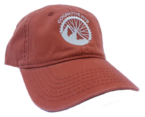 COGNATIVE LOGO BASEBALL HAT (TEXAS ORANGE)