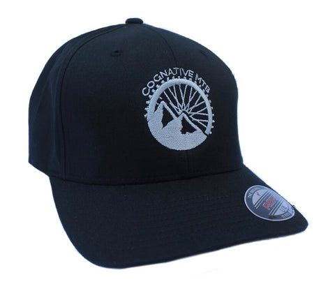 COGNATIVE LOGO FLEXFIT HAT (BLACK)
