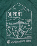 DUPONT STATE FOREST WOMEN'S SHIRT (PINE)