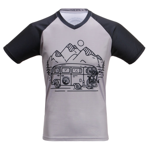 In Search of Singletrack MTB Mountain Bike Jersey short sleeve