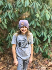 BERM PEAK YOUTH SHIRT (HEATHER GREY)