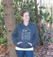 DUPONT STATE FOREST HOODIE (HEATHER NAVY)