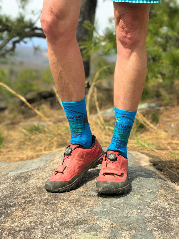 BIKE SHENANDOAH VALLEY - SOCK