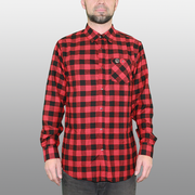 Men's Cognative Technical Flannel (Buffalo Red)
