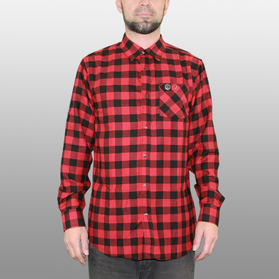 Men's Cognative Technical Flannel - Factory Second (Buffalo Red)