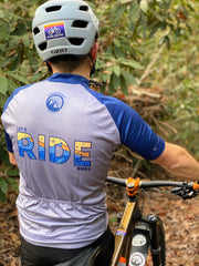 MEN'S LET'S RIDE BIKES - 3-POCKET ZIP JERSEY