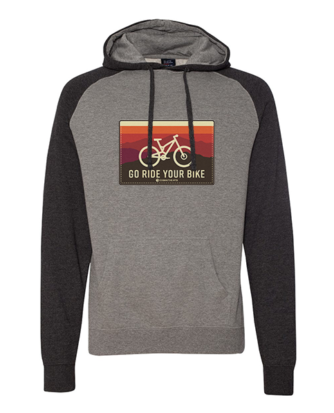 Go Ride Your Bike Hoodie (Horizon)