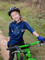 Youth The Bear Necessities - 3/4 Sleeve MTB Tech 2.0 Jersey