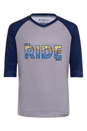 Youth Let's Ride Bikes - 3/4 Sleeve MTB Tech 2.0 Jersey