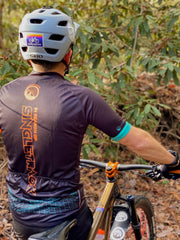 "MEN'S IN SEARCH OF SINGLETRACK ""GRID"" - 3-POCKET ZIP JERSEY"