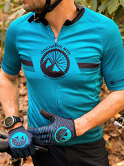 MEN'S COGNATIVE STANDARD ISSUE - 3-POCKET ZIP JERSEY (TEAL)