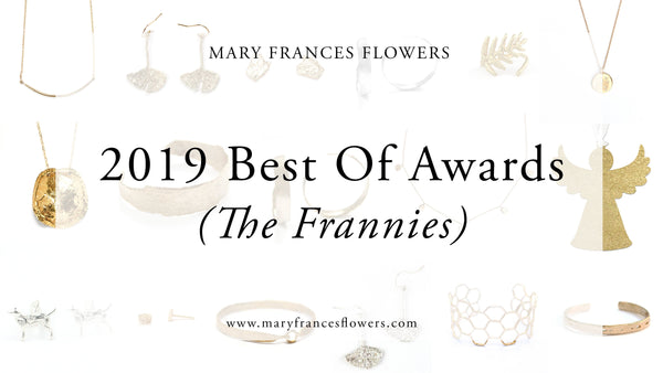 2019 Best Of Awards (The Frannies) Mary Frances Maker