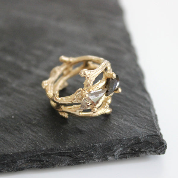 Custom Stories: A Sister's Branch Ring Mary Frances Maker