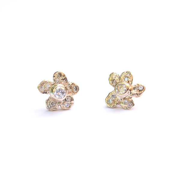 Custom Stories: Anna's Diamond-Encrusted Studs Mary Frances Maker