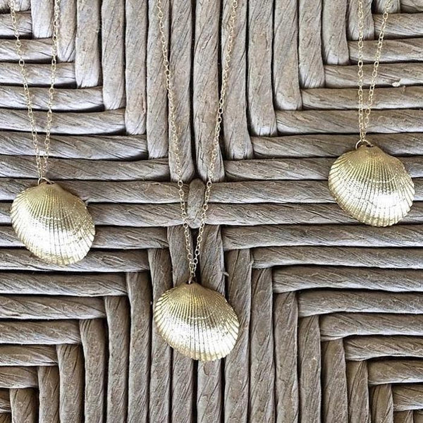 Custom Stories: Collected Seashell Necklaces Mary Frances Maker