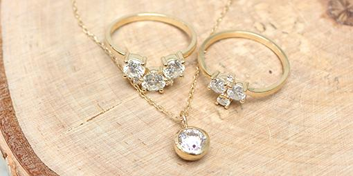 Custom Stories: Elaine's 2-piece Cluster Diamond Ring & Bezel Pendant Mary Frances Maker