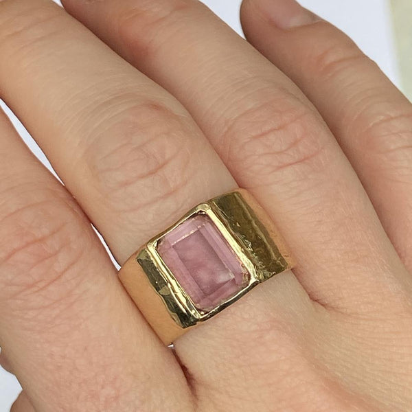 Custom Stories: Ellen's Amethyst Ring Mary Frances Maker