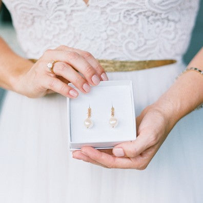 Custom Stories: Redesigned Family Pearl Earrings for my Wedding Mary Frances Maker