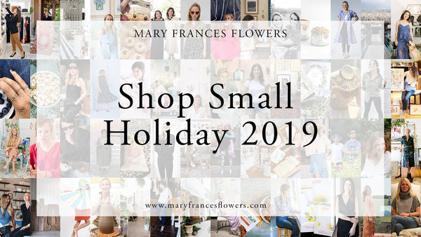Shop Small Holiday: Black Friday Roundup Mary Frances Maker