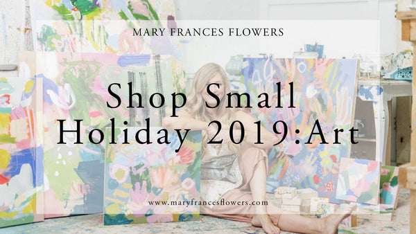 Shop Small Holiday 2019: ART Mary Frances Maker