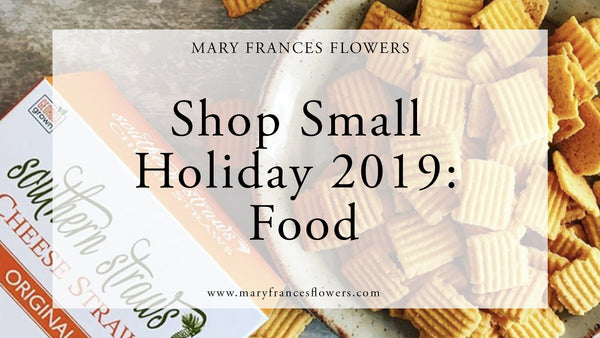 Shop Small Holiday 2019: FOOD Mary Frances Maker