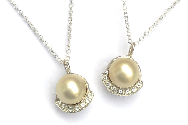 redesigned pearl necklaces custom jewelry