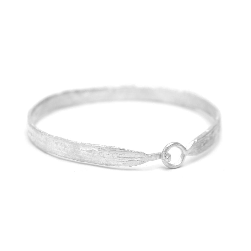 Birch Skinny Bangle, Silver Mary Frances Maker