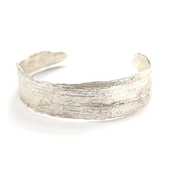 Birch Skinny Cuff, Silver Mary Frances Maker