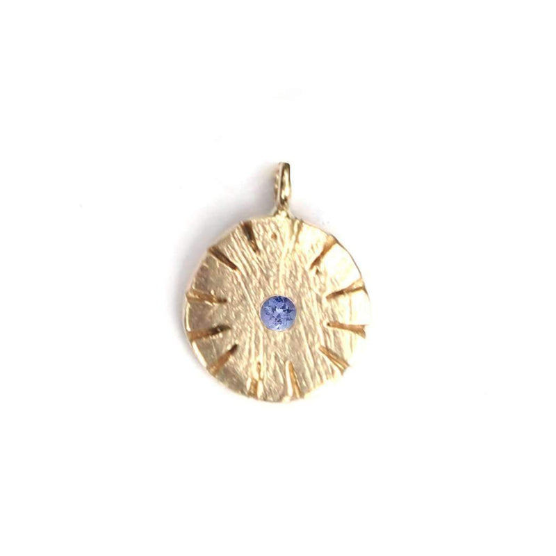 Time Necklace with Birthstone, Gold Mary Frances Maker