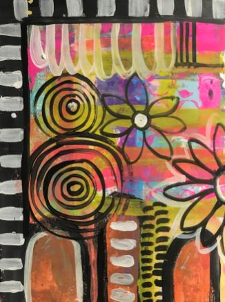 Craft Paint Masterpiece Art Journal Challenge 5