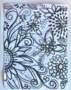 Craft Paint Masterpiece Art Journal Challenge