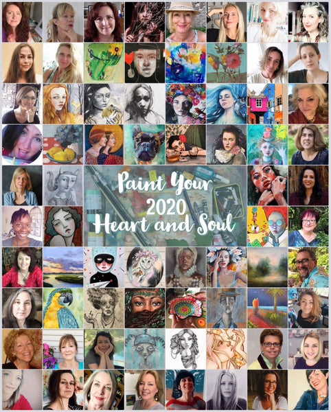 Painting your Heart and Soul 2020