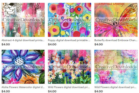 Creative Downloads, Robin Mead, digital downloads