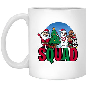 Squad Christmas Coffee Mug