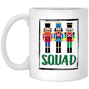 Nutcracker Squad Christmas Coffee Mug