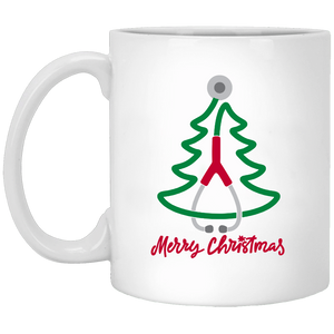 Nurse Stethoscope Christmas Coffee Mug