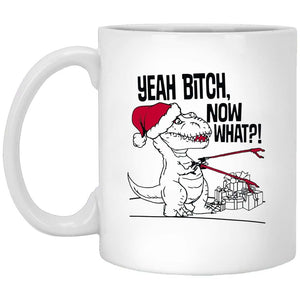 Yeah Bitch Christmas Coffee Mug
