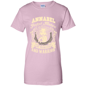 Annabel Perfect Mixture Of Princess And Warrior T Shirts-New Wave Tee