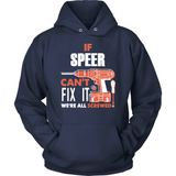 If Speer Can't Fix It We're All Screwed T Shirts-New Wave Tee