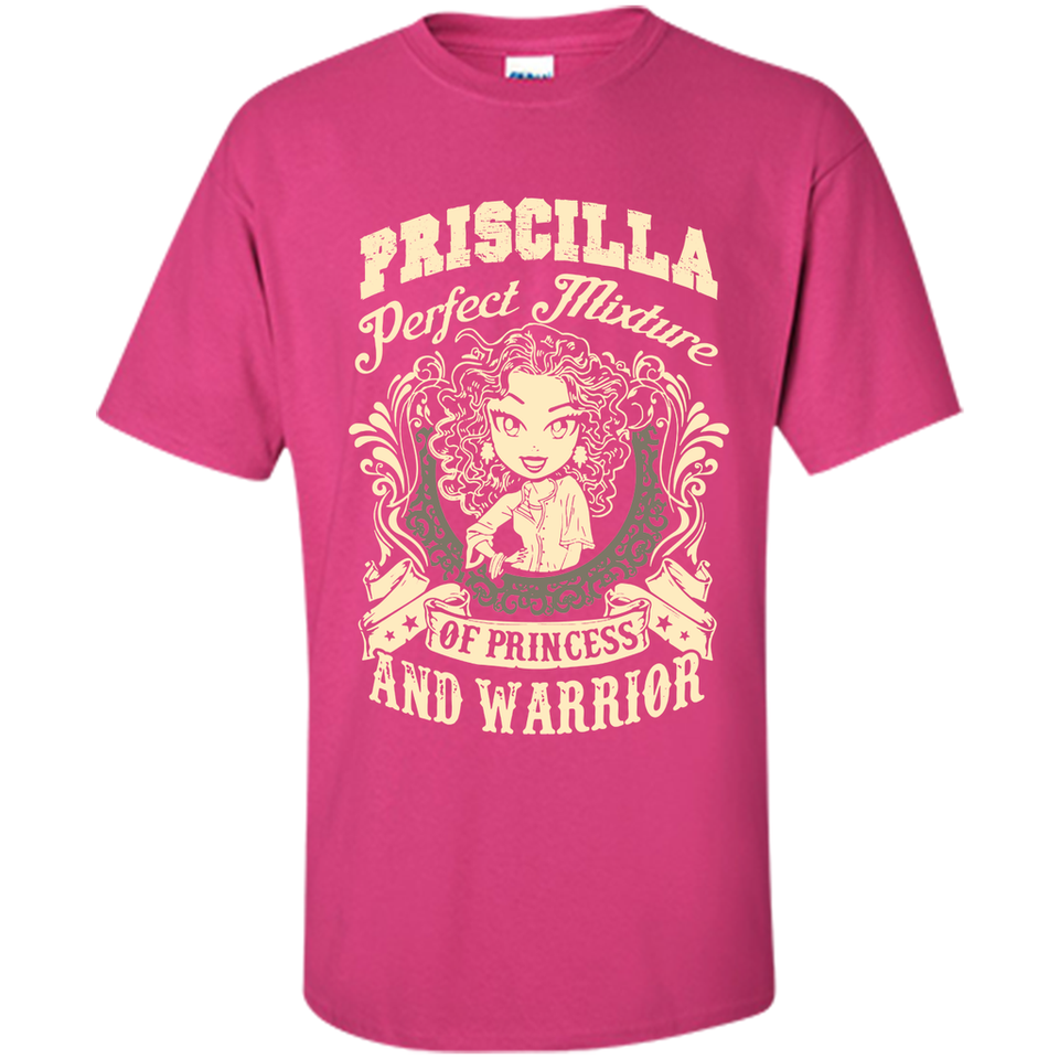 Priscilla Perfect Mixture Of Princess And Warrior T Shirts-New Wave Tee
