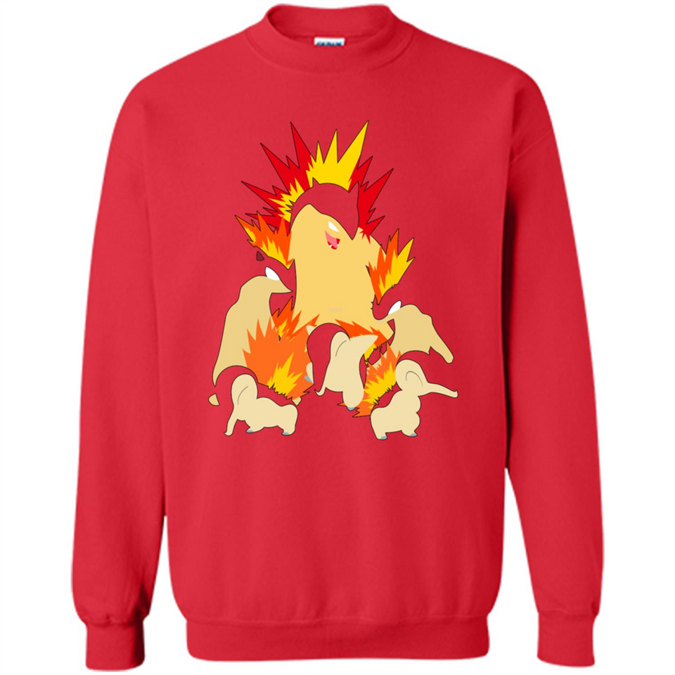 c25e9429 ... Cyndaquil - Quilava - Typhlosion tshirt-New Wave Tee ...