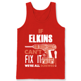 If Elkins Can't Fix It We're All Screwed T Shirts-New Wave Tee