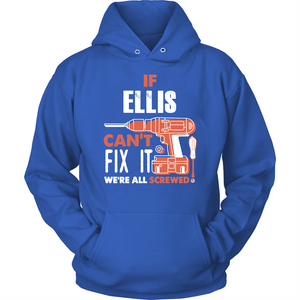If Ellis Can't Fix It We're All Screwed T Shirts-New Wave Tee